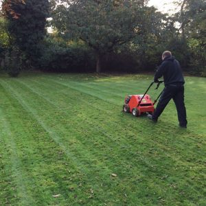 Aeration of your lawn - Greenway Lawn Services