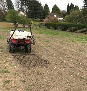 Lawn renovation renewal